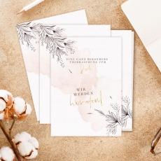 Leoly   Glückspost Hochzeit Set   flower