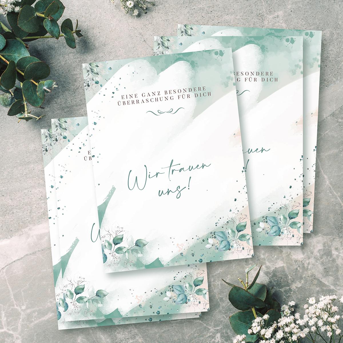 Leoly | Glückspost Hochzeit | LEAVES